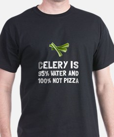 Celery Not Pizza T-Shirt
