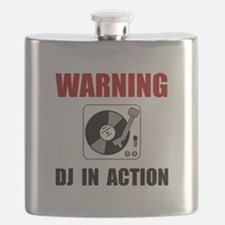 DJ In Action Flask