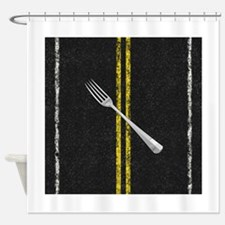 Fork In Road Shower Curtain