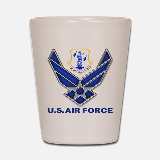 Air National Guard Shot Glass