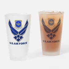 Air Mobility Command Drinking Glass