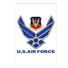 Air Combat Command Postcards (Package of 8)
