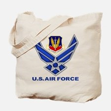 Air Combat Command Tote Bag