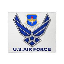 Air Education Command Throw Blanket