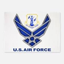 Air National Guard 5'x7'Area Rug