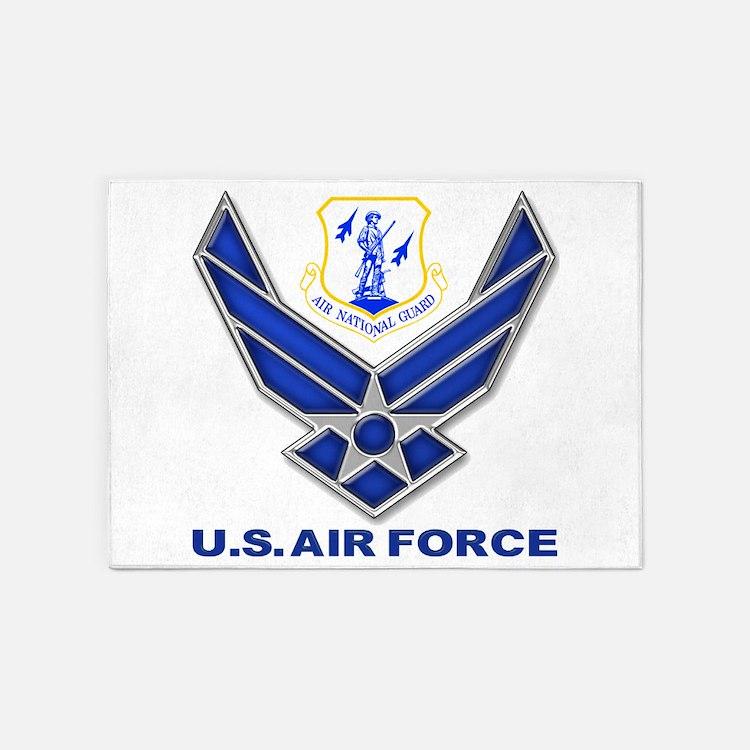 Air National Guard 5'x7'Area Rug