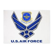 Air Mobility Command 5'x7'Area Rug