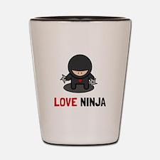 Love Ninja Shot Glass