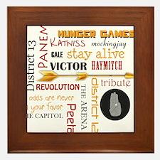 Hunger Games Mix Framed Tile