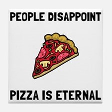 Pizza Eternal Tile Coaster
