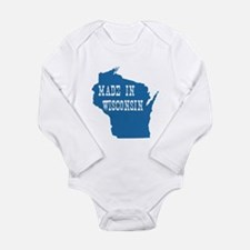 Wisconsin Long Sleeve Infant Bodysuit