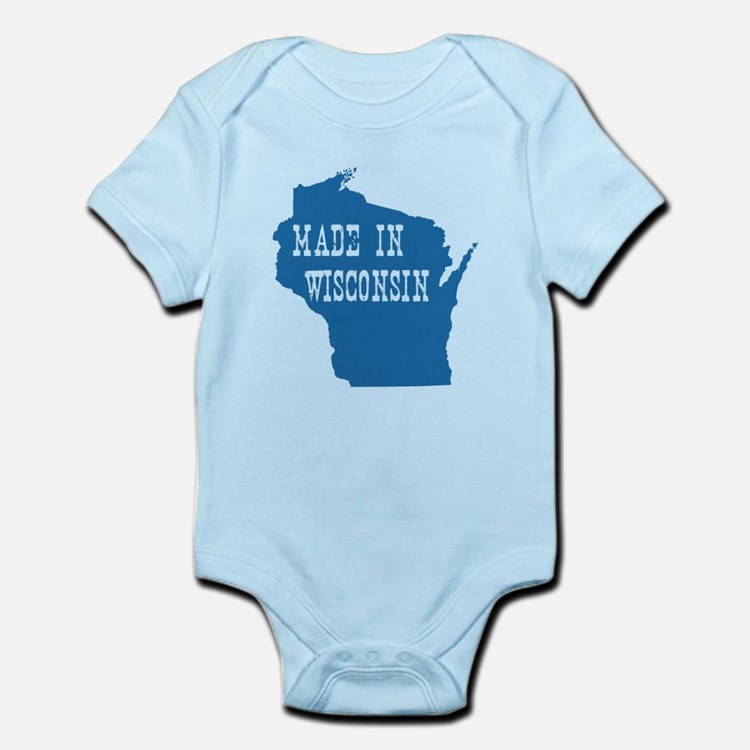 Wisconsin Infant Bodysuit