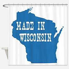 Wisconsin Shower Curtain