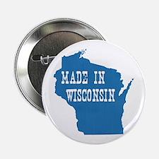 """Wisconsin 2.25"""" Button"""