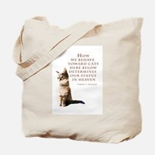 cats-and-heaven-card.jpg Tote Bag
