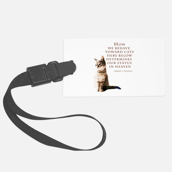 cats-and-heaven-card.jpg Luggage Tag