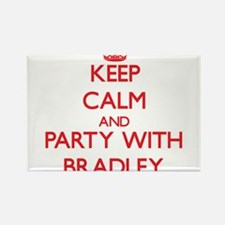 Keep calm and Party with Bradley Magnets