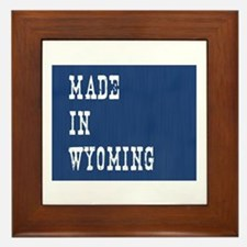 Wyoming Framed Tile