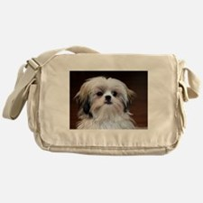 Precious Little Shih Tzu Messenger Bag