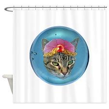 Fortune Cat Shower Curtain
