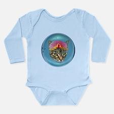 Fortune Cat Long Sleeve Infant Bodysuit