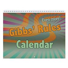 NCIS Gibbs Rules Wall Calendar