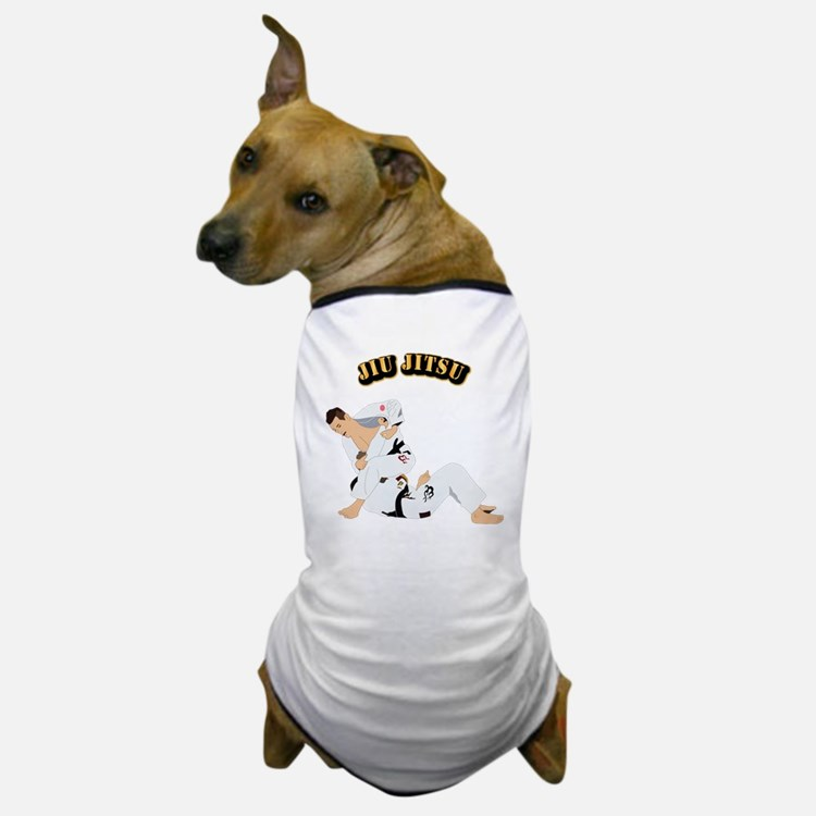 Jiu Jitsu Fighter With Text Dog T-Shirt