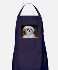 Precious Little Shih Tzu Apron (dark)