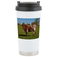 Texas Longhorn Travel Mug