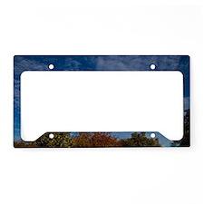 Beautiful sky License Plate Holder