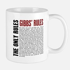 Gibbs' Rules Small Mugs