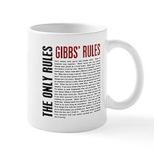Gibbs' Rules Small Small Mug