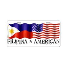 Cute Filipina Aluminum License Plate