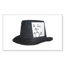 10Over6 Top Hat Decal