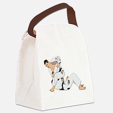 Jiu Jitsu Fighter Canvas Lunch Bag