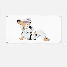 Jiu Jitsu Fighter Banner