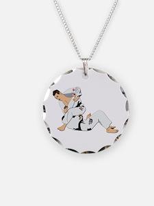 Jiu Jitsu Fighter Necklace