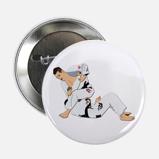 "Jiu Jitsu Fighter 2.25"" Button"