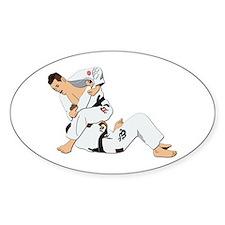 Jiu Jitsu Fighter Decal