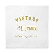 Vintage 30th Birthday Queen Duvet