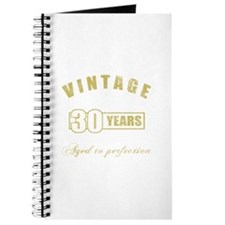 Vintage 30th Birthday Journal