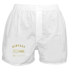 Vintage 30th Birthday Boxer Shorts