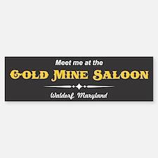 Gold Mine Saloon Bumper Bumper Bumper Sticker Bumper Bumper Bumper Sticker