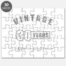 Vintage 30th Birthday Puzzle
