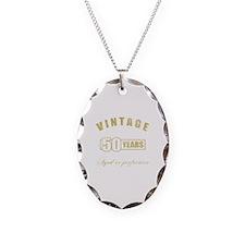 Vintage 50th Birthday Necklace