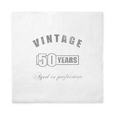 Vintage 50th Birthday Queen Duvet