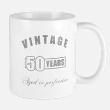 Vintage 50th Birthday Mug