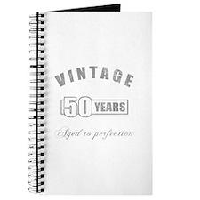 Vintage 50th Birthday Journal