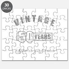 Vintage 50th Birthday Puzzle