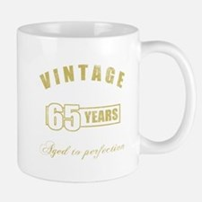 Vintage 65th Birthday Mug